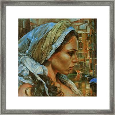 Maria Framed Print by Arthur Braginsky