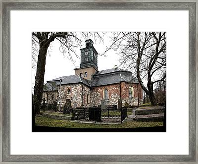 Maria Church Enkoeping From South Leif Sohlman Framed Print