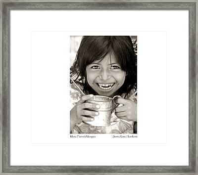 Maria Florinda Marquez Framed Print
