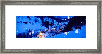Maria Gern Church Berchtesgaden Bavaria Framed Print by Panoramic Images