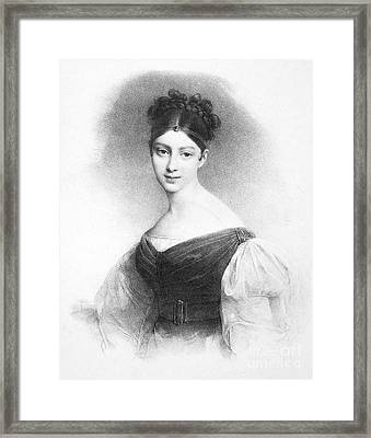 Maria Malibran Framed Print by Granger