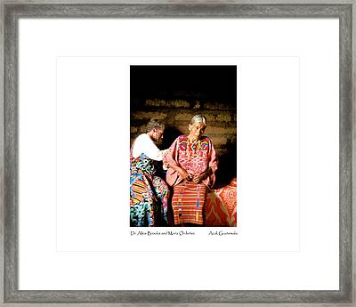 Maria Ordonez Framed Print by Tina Manley