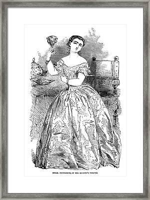 Maria Piccolomini (1834-1899) Framed Print by Granger
