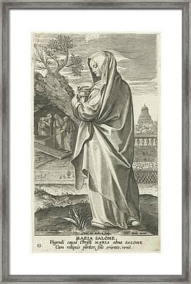 Maria Salom, Karel Van Mallery, Philips Galle Framed Print