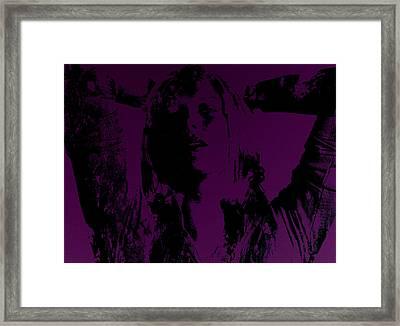 Maria Sharapova Feeling It Framed Print