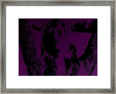 Maria Sharapova Feeling It Framed Print by Brian Reaves
