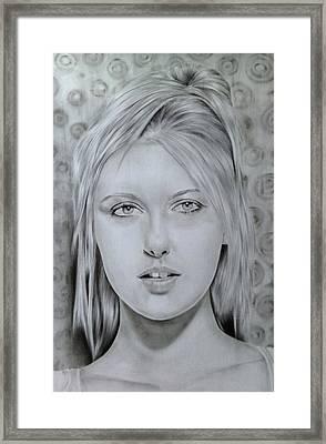 Maria Sharapova Framed Print by Kamanita Klinjuy