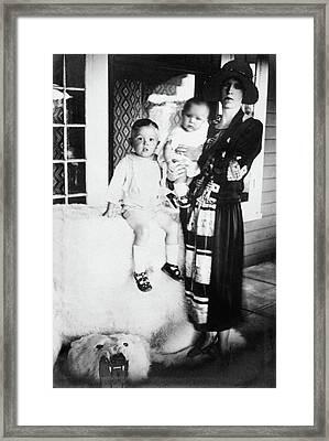 Maria Tallchief (1925-2013) Framed Print by Granger