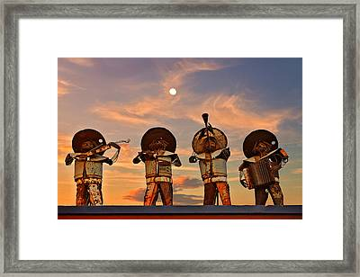 Mariachi Band Framed Print