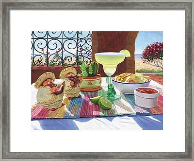 Mariachi Margarita Framed Print