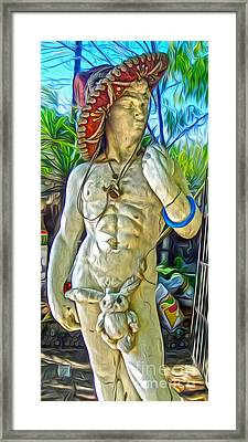 Mariachi Michelangelo Framed Print by Gregory Dyer