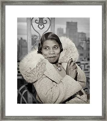 Marian Anderson 1941 Framed Print