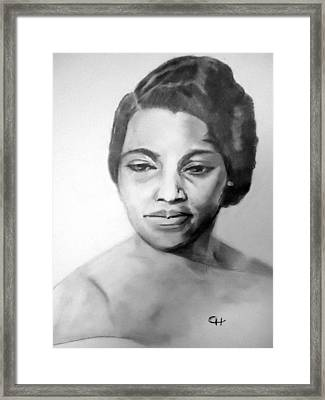 Marian Anderson Framed Print