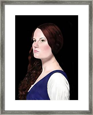 Mariana  Framed Print by Andrew Harrison