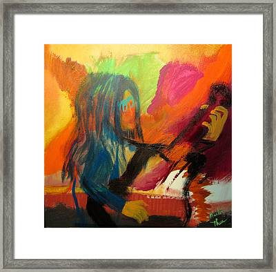 Marianne Framed Print by Keith Thue