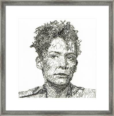 Marianne Pearl Framed Print by Michael Volpicelli