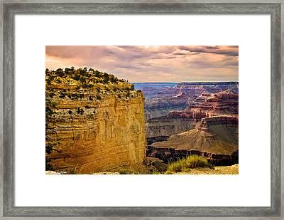 Maricopa Point Grand Canyon Framed Print by Bob and Nadine Johnston