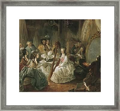 Marie-antoinette 1755-1793. Queen Framed Print by Everett
