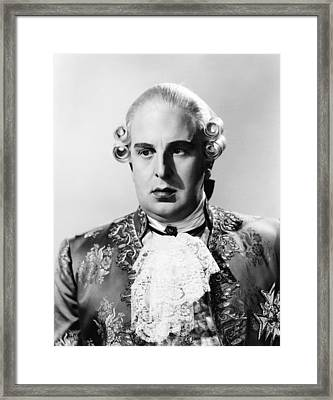 Marie Antoinette, Robert Morley Framed Print