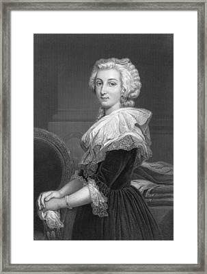 Marie Antoinette Framed Print by Underwood Archives