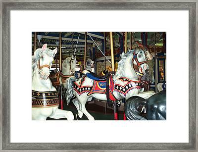 Marie Framed Print by Barbara McDevitt