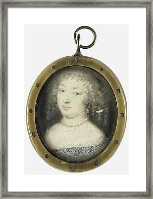 Marie De Rabutin-chantal Sévigné, Marquise De Framed Print by Litz Collection