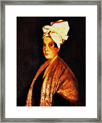 Marie Laveau - New Orleans Witch Framed Print