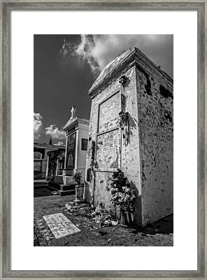 Marie Laveau's Tomb 2 Framed Print