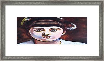 Marie-louis Pailleron Framed Print by Buffalo Bonker
