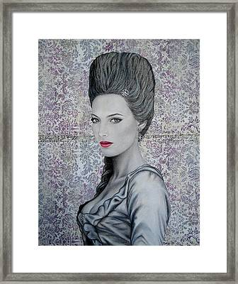 Marie Framed Print by Lynet McDonald