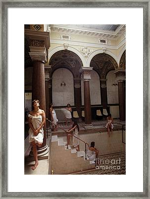 Marienbad Baths Framed Print by Ros Drinkwater