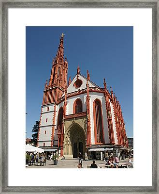 Marienkapelle Framed Print