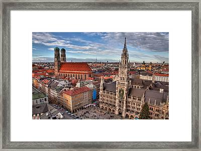 Marienplatz Framed Print