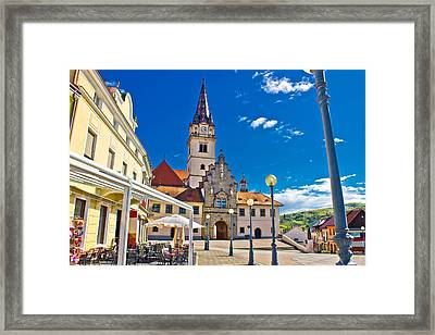 Marija Bistrica Marianic Sanctuary In Croatia Framed Print by Brch Photography