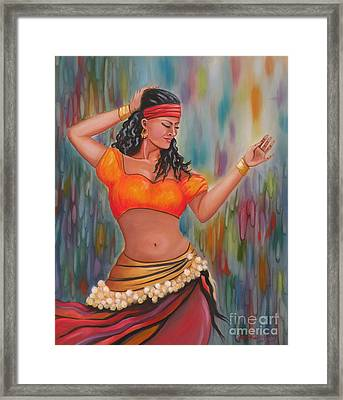 Marika The Gypsy Dancer Framed Print