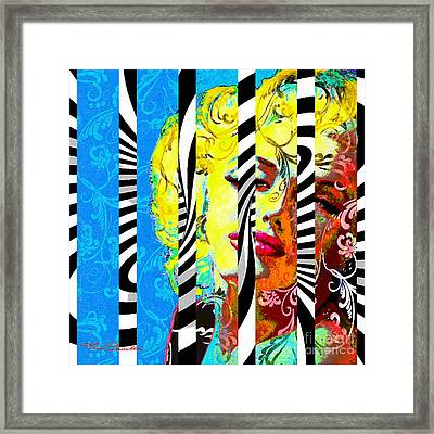 Marilyn 130 B Framed Print