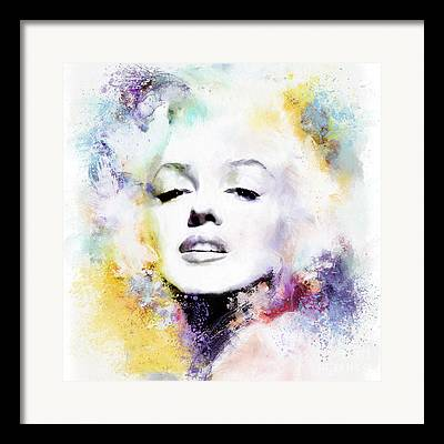 Marilyn Munroe Framed Prints