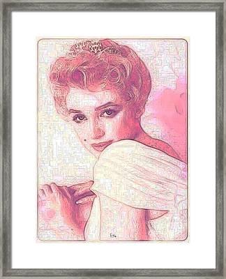 Marilyn Forever Framed Print by PainterArtist FIN