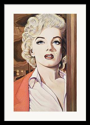 1956 Movies Paintings Framed Prints