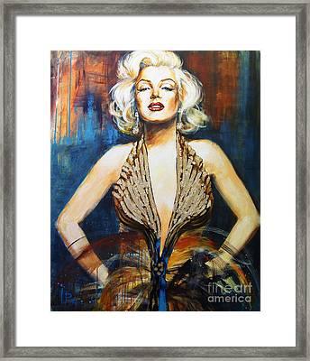 Marilyn Framed Print by Ira Ivanova
