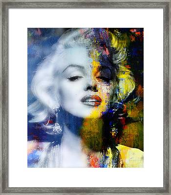 Marilyn Framed Print by Mal Bray