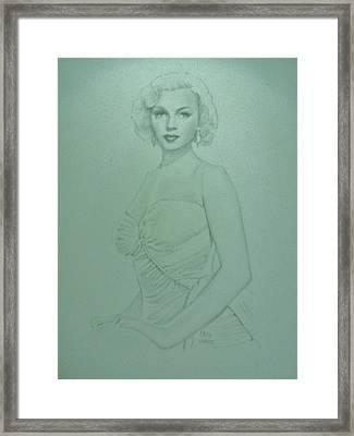 Marilyn Monroe 2 Framed Print