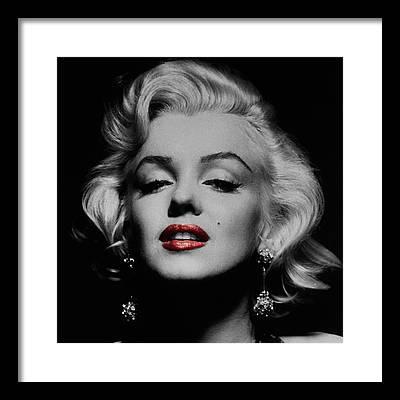 Marilyn Monroe Framed Prints