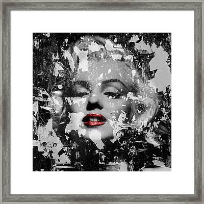 Marilyn Monroe 5 Framed Print by Andrew Fare