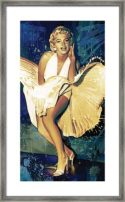 Marilyn Monroe Artwork 4 Framed Print