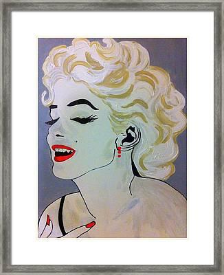 Marilyn Monroe Beautiful Framed Print
