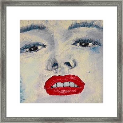 Marilyn Monroe Framed Print by David Patterson