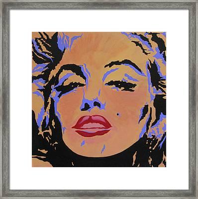 Marilyn Monroe-sultry Framed Print