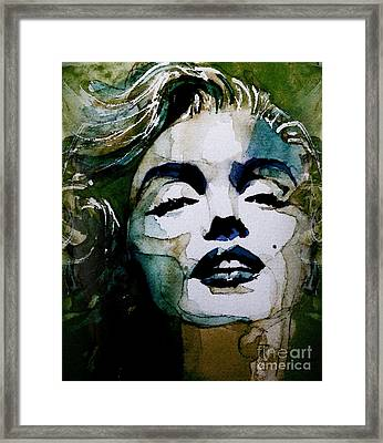Marilyn No10 Framed Print by Paul Lovering