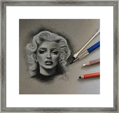 Marilyn Framed Print